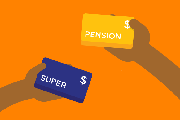 Super and age pension